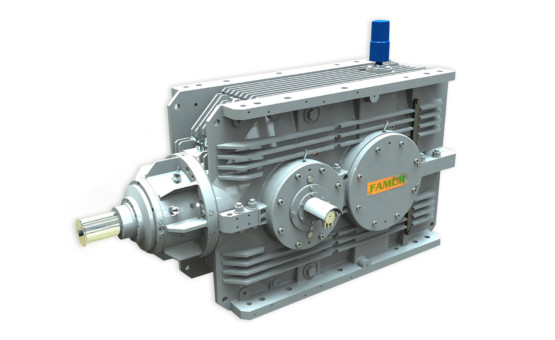FG 500 – BEVEL HELICAL GEARBOX