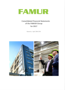 Consolidated annual report of FAMUR Group for the year 2017